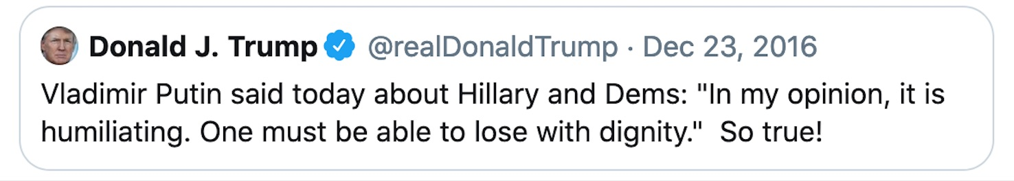 an old tweet from The Don rises again to taunt him?.jpg